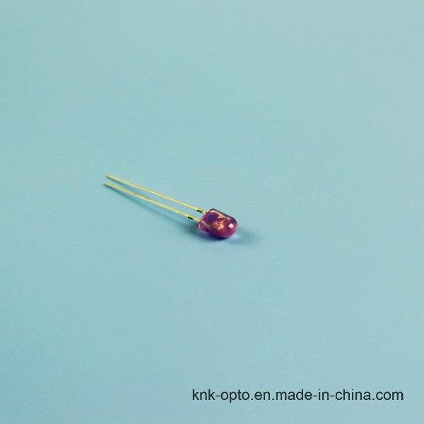 5mm Oval Purple Diffused LED