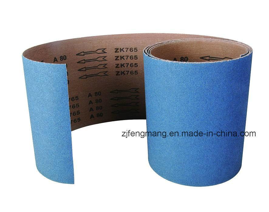 X-Wt Cloth Zirconium Oxide Flap Disc/Abrasive Cloth Roll Zk765X
