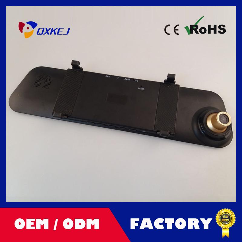"4.3""LCD Car DVR Video Rearview Mirror Recorder Night Vision HD Camera Tachograph"