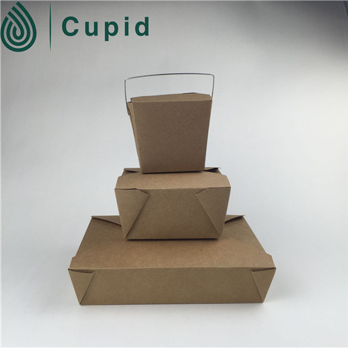 China Wholesale Market Food Grade Disposable Green Pasta Box