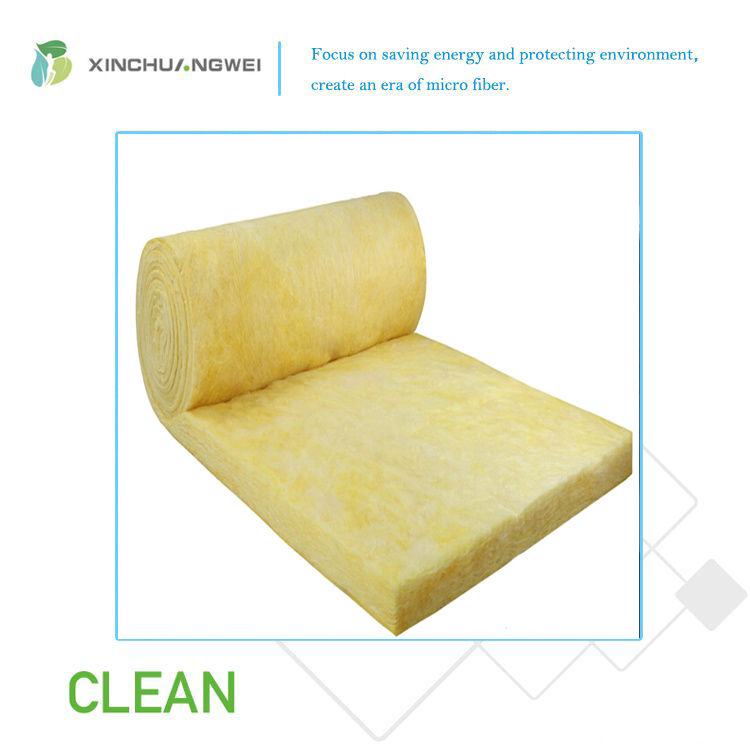 Construction Thermal Insulation Grade A1 Fireproof Glass Wool