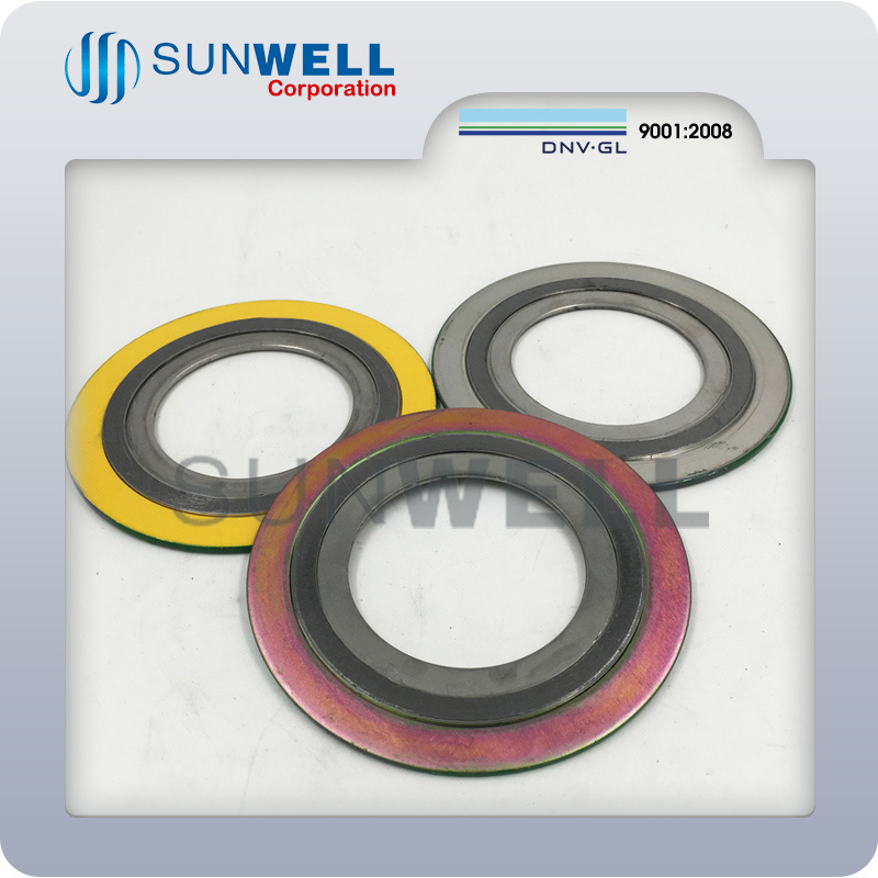 Inner/Outer Ring Spiral Wound Gasket Spiral Wound Gasket for Flange