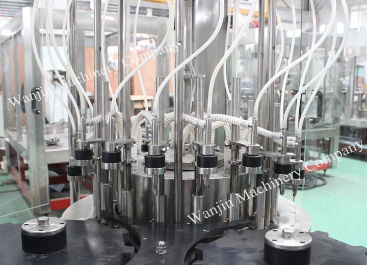 Full Automatic Wine Liquor Glass Bottle Filling Line