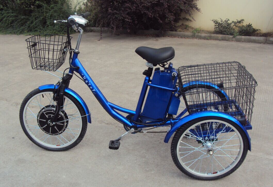 36V5000W Electric Cargo Tricycle