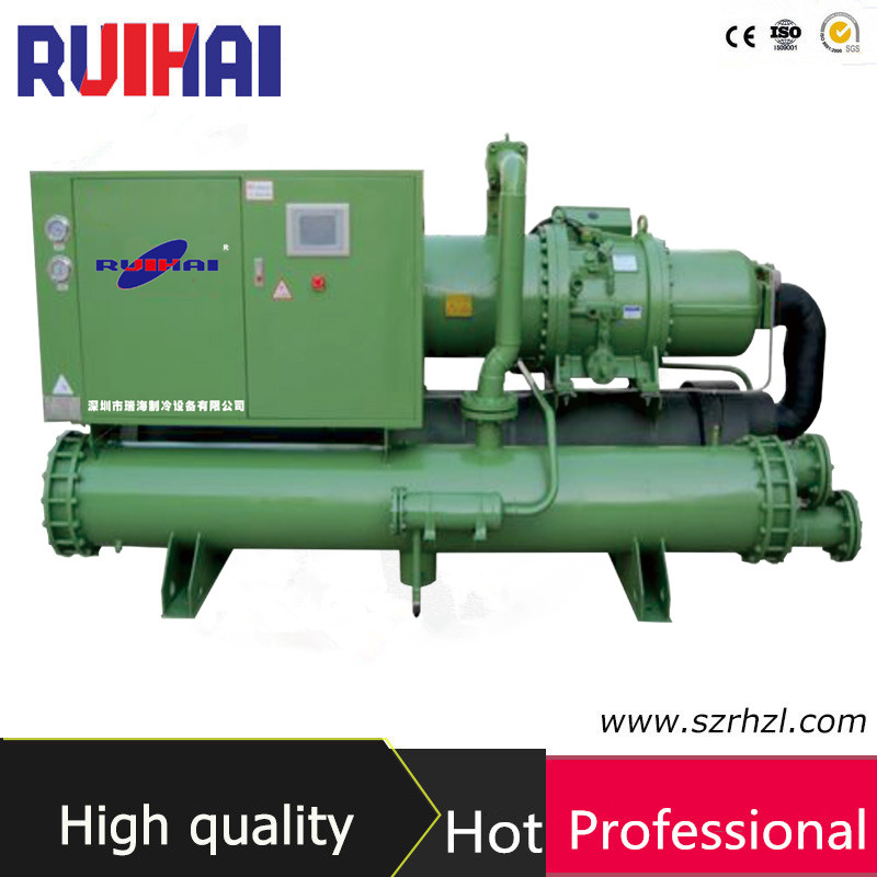 40HP Low Temperature Glycol Water Cooled Industrial Water Chiller