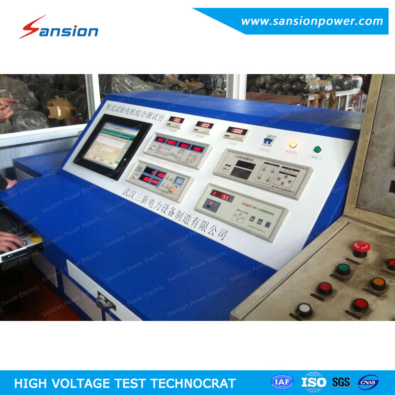 Integrated AC Motor Test System