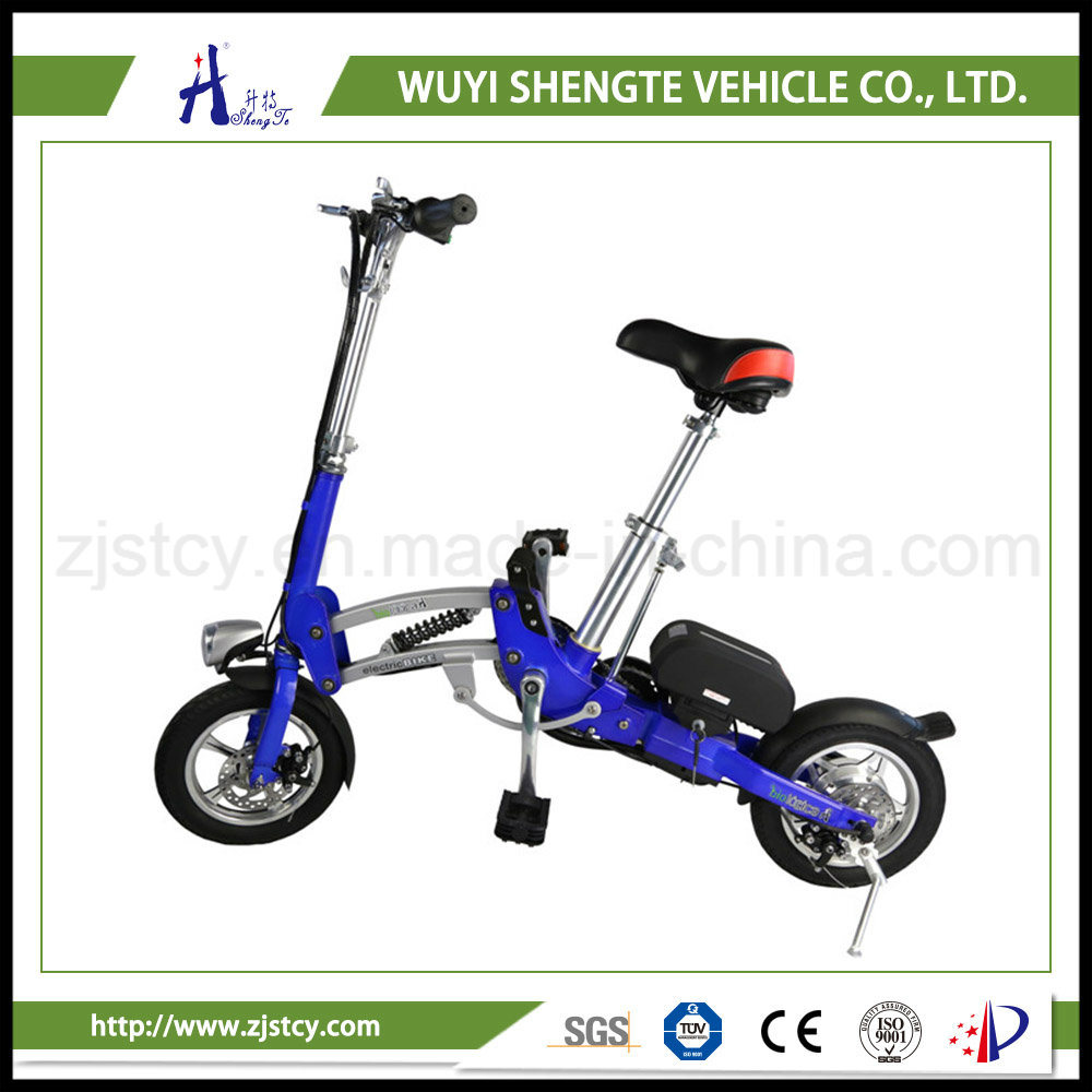 350W 36V 10ah Rear Suspension Mini Folding Electric Scooter / Bicycle.