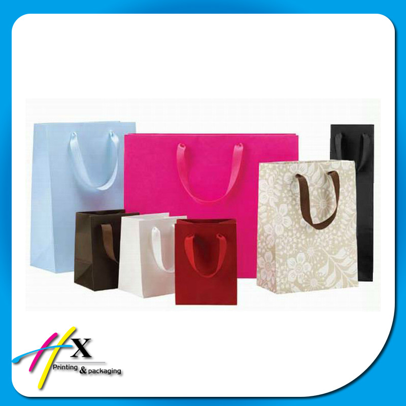 Promotional Brown Kraft Paper Shopping Carrier Bags