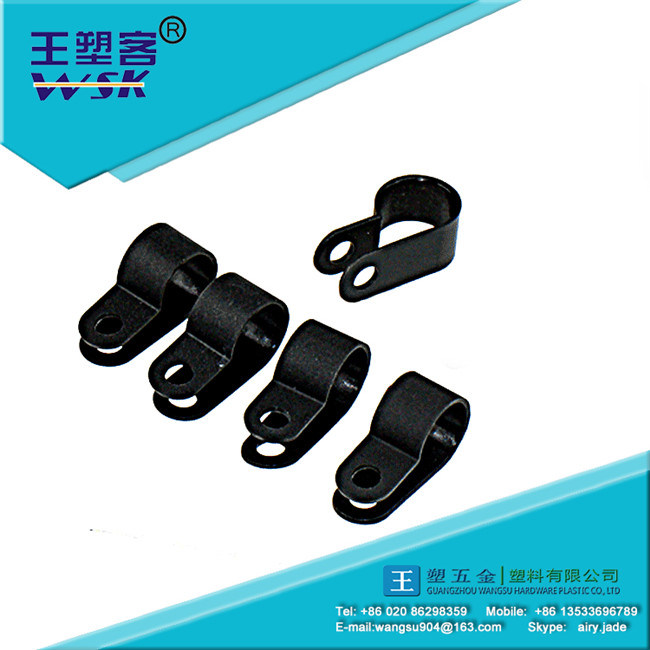 Adjustable R-Type Cable Clamp to Protect Wire