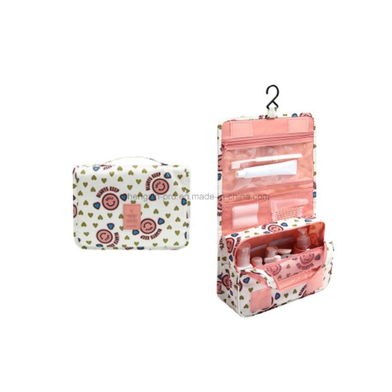 Polyester Washing Bag Trolley Bag for Traveling with Hanger