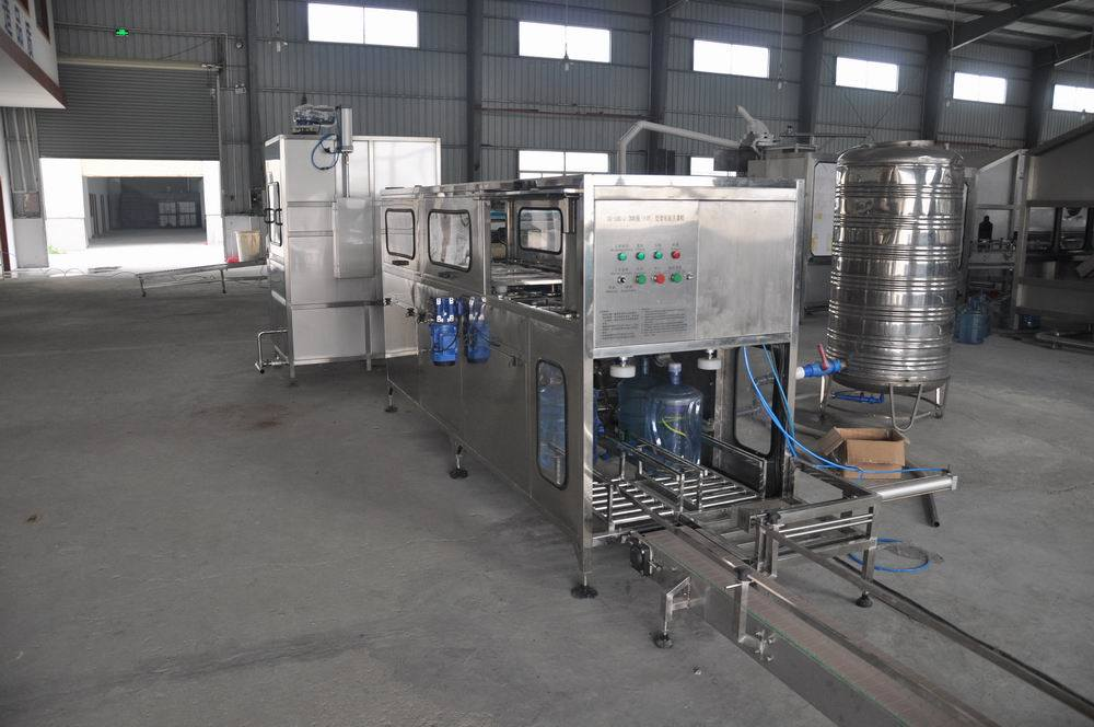 Pure Water Bottle Washing Filling Capping Machine