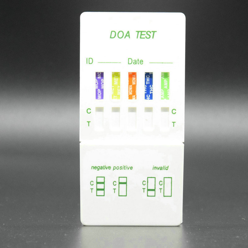 Drug DIP Panel Test Cassette/Multi-Drug Panel Test Card/Doa-5 DIP Panel Test
