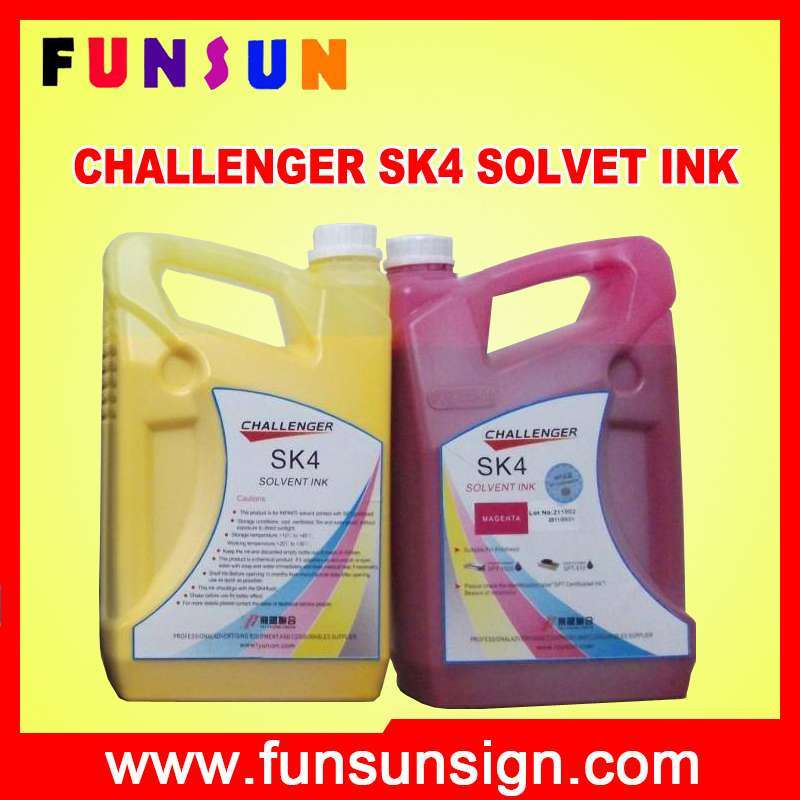 Sk4 Solvent Ink for Seiko Head/ Konica Head/ Epson Head