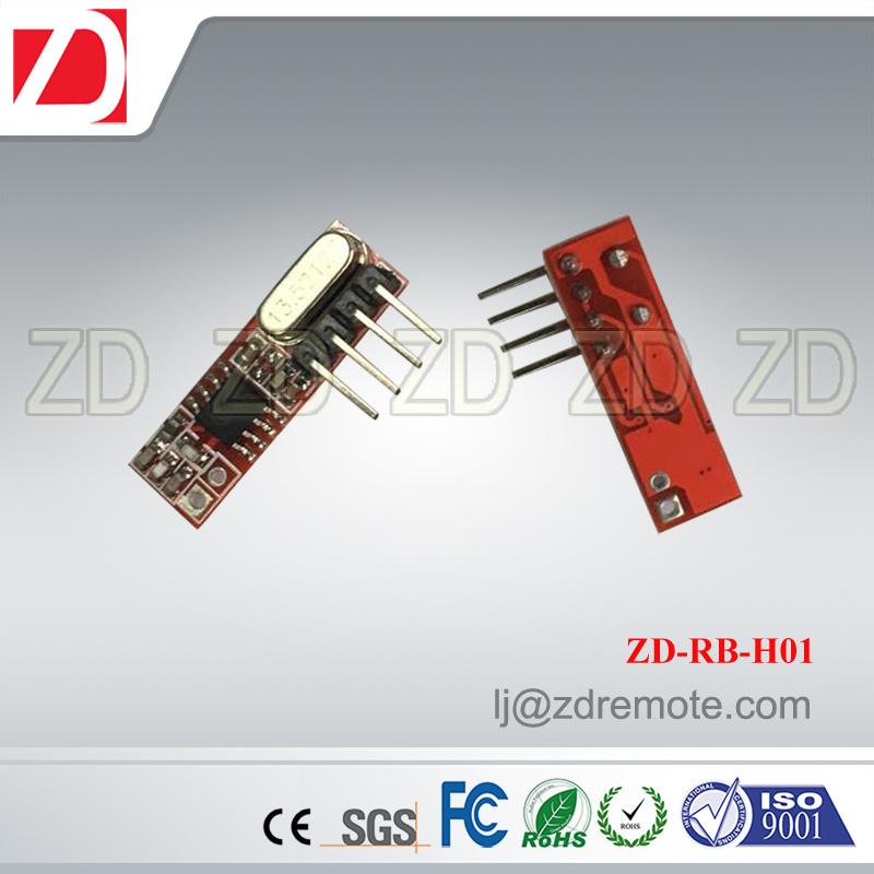 Superheterodyne 315/433MHz RF Receiver Module for Motorcar Alarm System