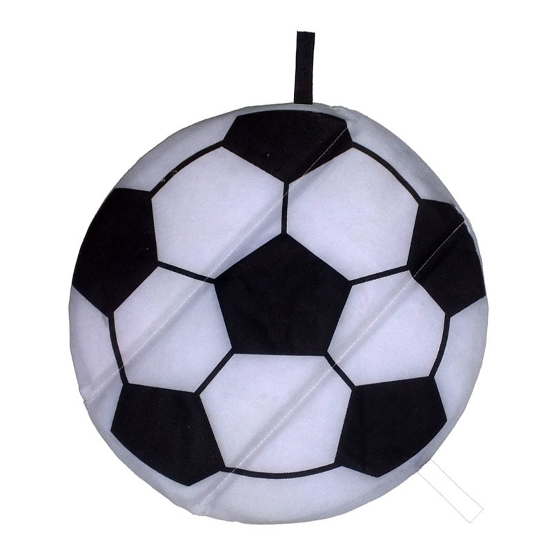 Soccer Shape Foldable Seat Cushion Stadium Cushion