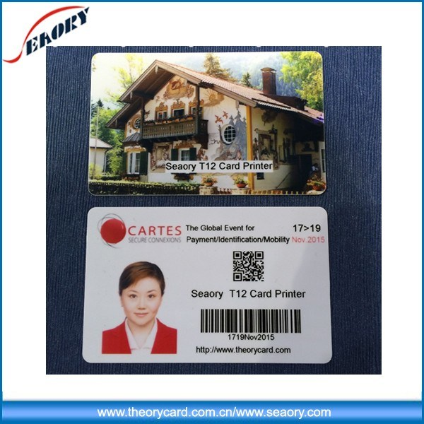 Plastic ID Card Printer Smart Card Printer