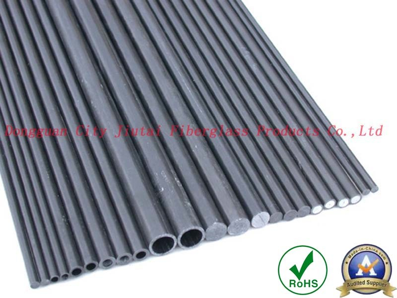 High Strength Carbon Fiber Pultrusion Solid Round Rods