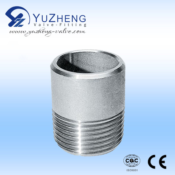 Stainless Steel F/F Barrel Nipple