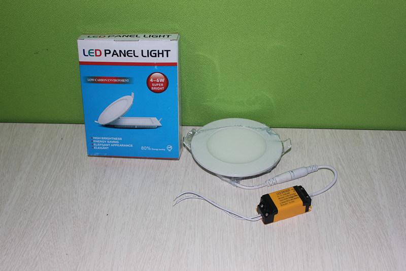 3W/6W/9W12W/15W/18W Round/Square LED Ceiling Light Panel