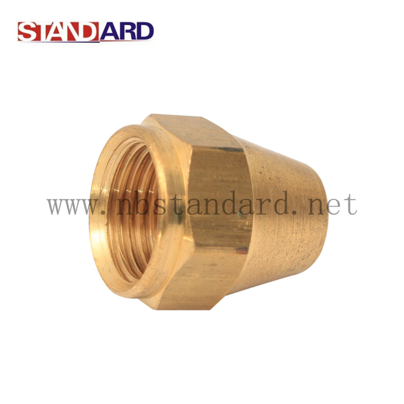 Brass Gas Fitting Nut