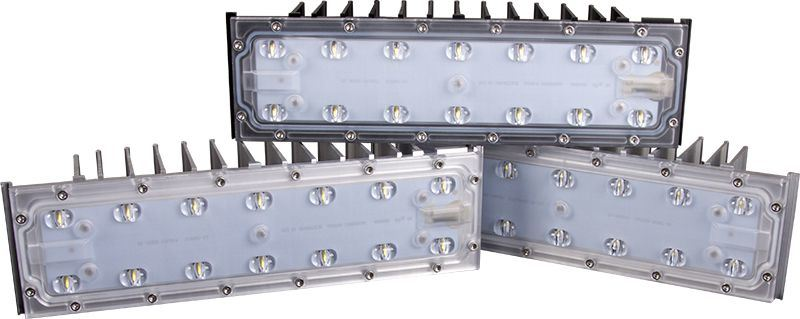 40 to 480W High Lumen LED Floodlight with 85V to 480VAC for Outdoor Stadium Square