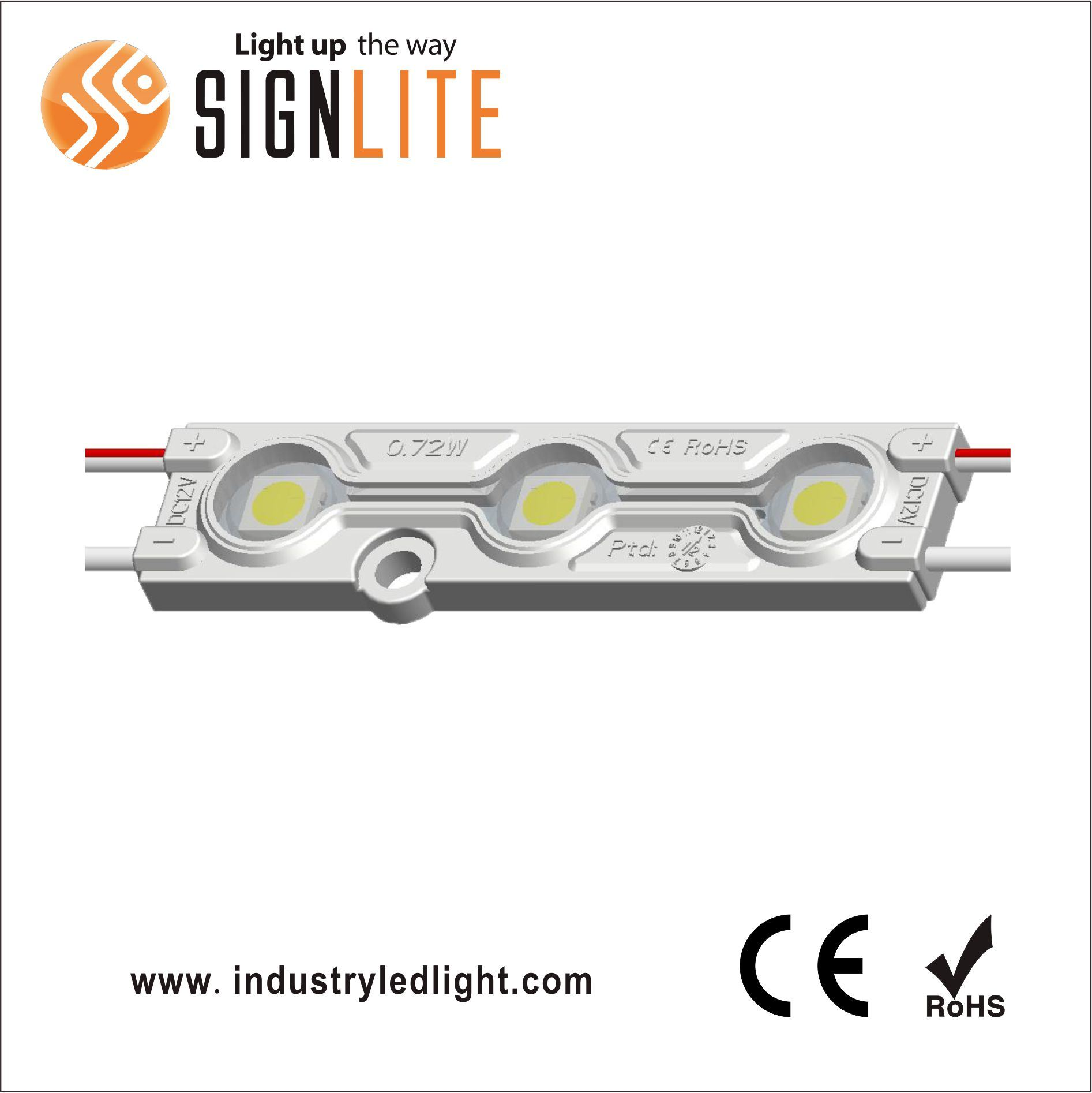 IAW225B DC12V IP65 SMD5050 Injection LED Module Light
