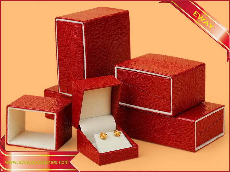Black Jewelry Box Ring Box Gift Packing Paper Box