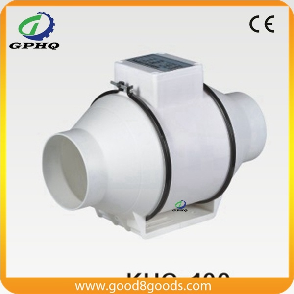 High Quality Plastic Two Speed Inline Duct Fan 150mm