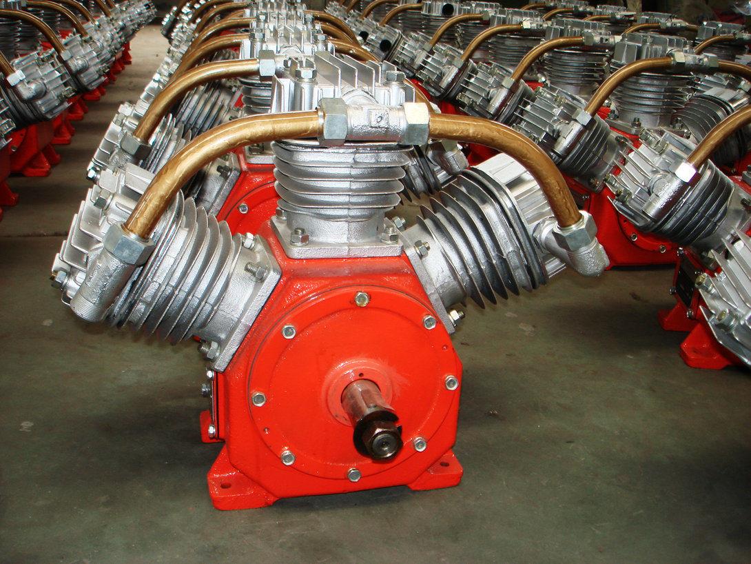 Kaishan 5bar Diesel Drive Mini Piston Air Compressor W-1.35/5