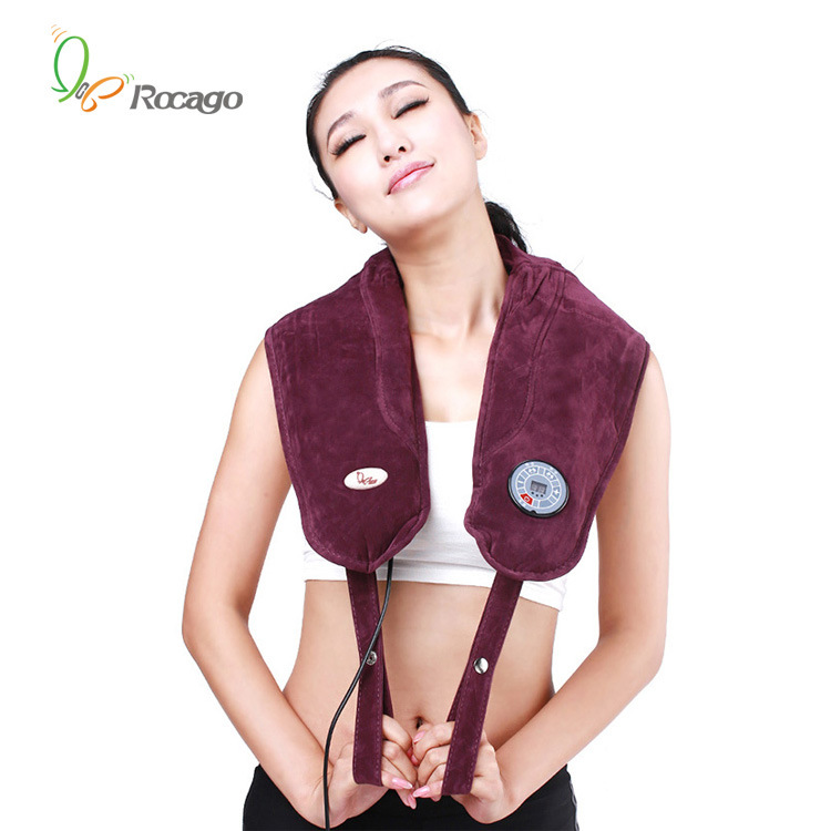 Tapping Neck and Shoulder Massager Vibration Massage Belt with Heat