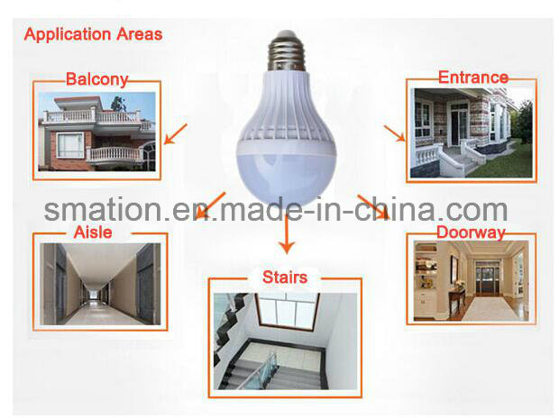 E27 B22 LED Microwave Radar Induction Sensor Ball Smart Intelligent Intellective Light Bulb