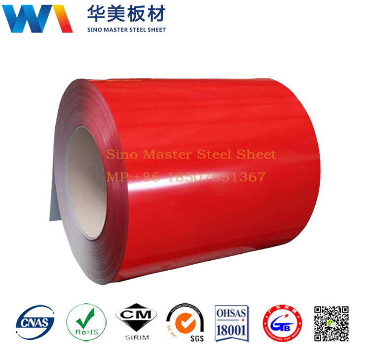 Steel Coil/Sheet Gi PPGI PCM VCM