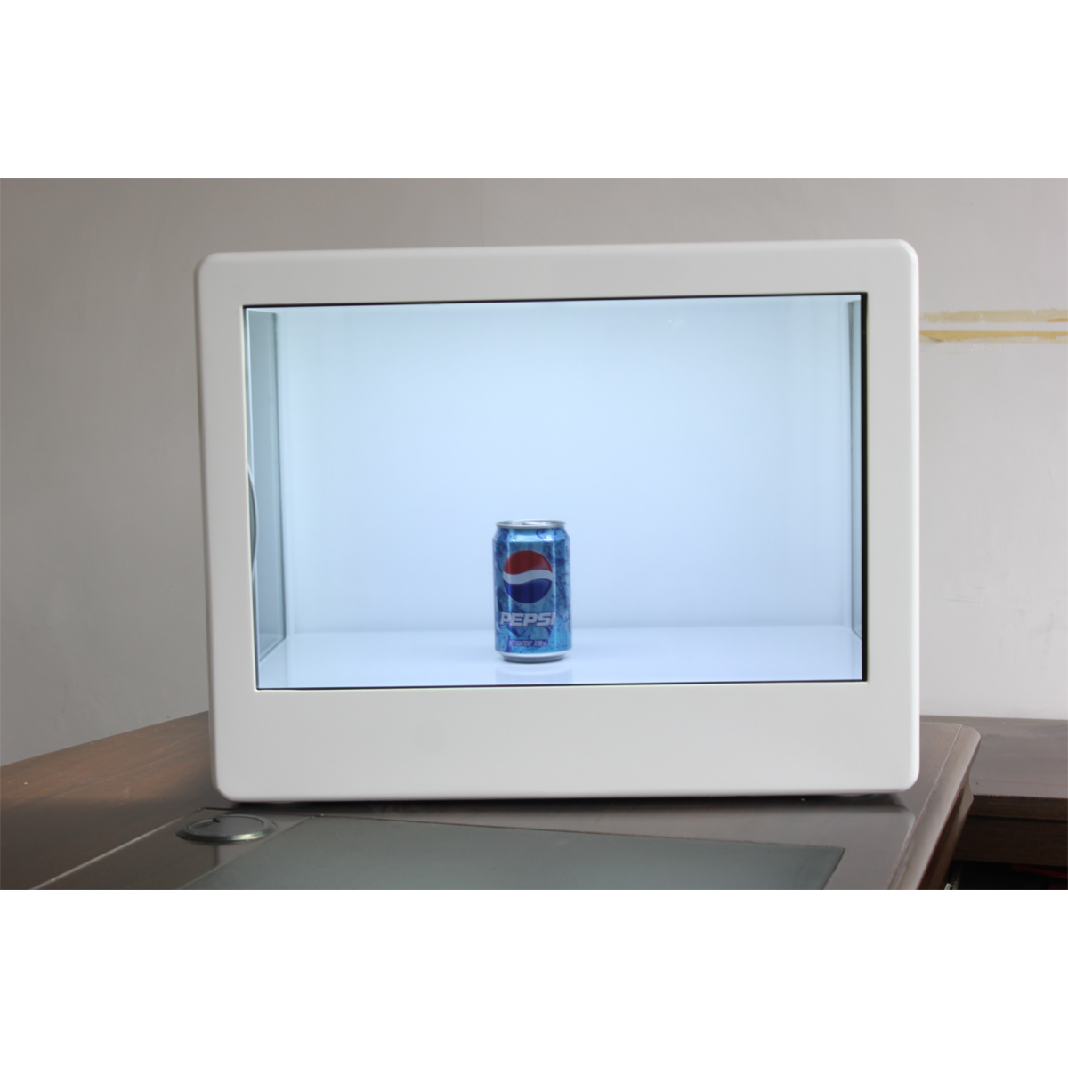 42 Inch LCD Transparent Display Box with High-Grade Appearance