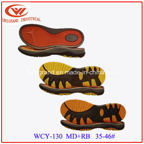 MD EVA Rubber Men Sandals Sole for Making Shoes
