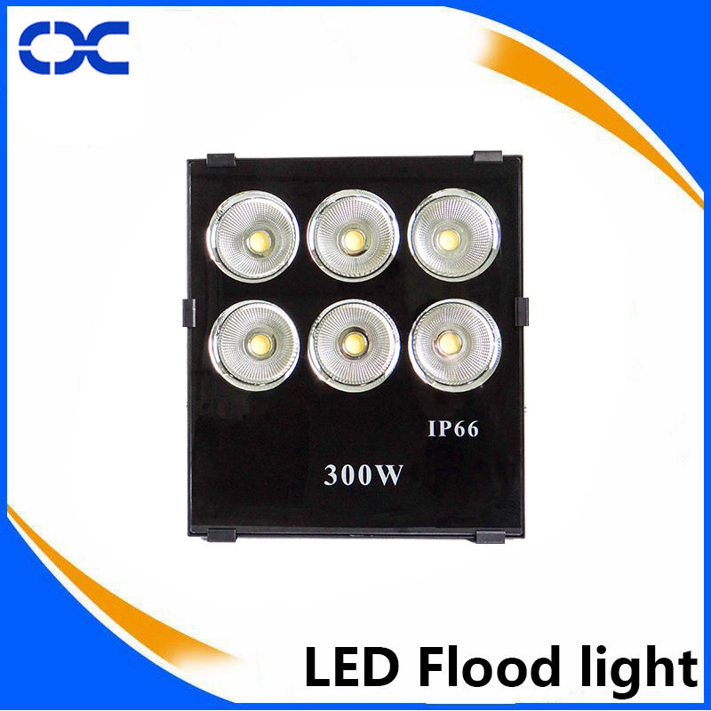 300W COB Imitation of Overclocking Three LED Flood Lighting