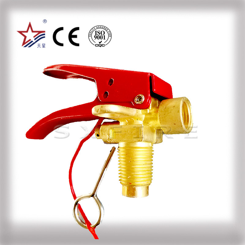 Shutoff Valves for Fire Extinguishers