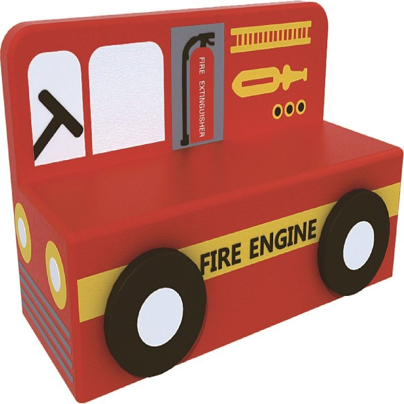 Fire Truck Style Sofa Children Furniture for Sale