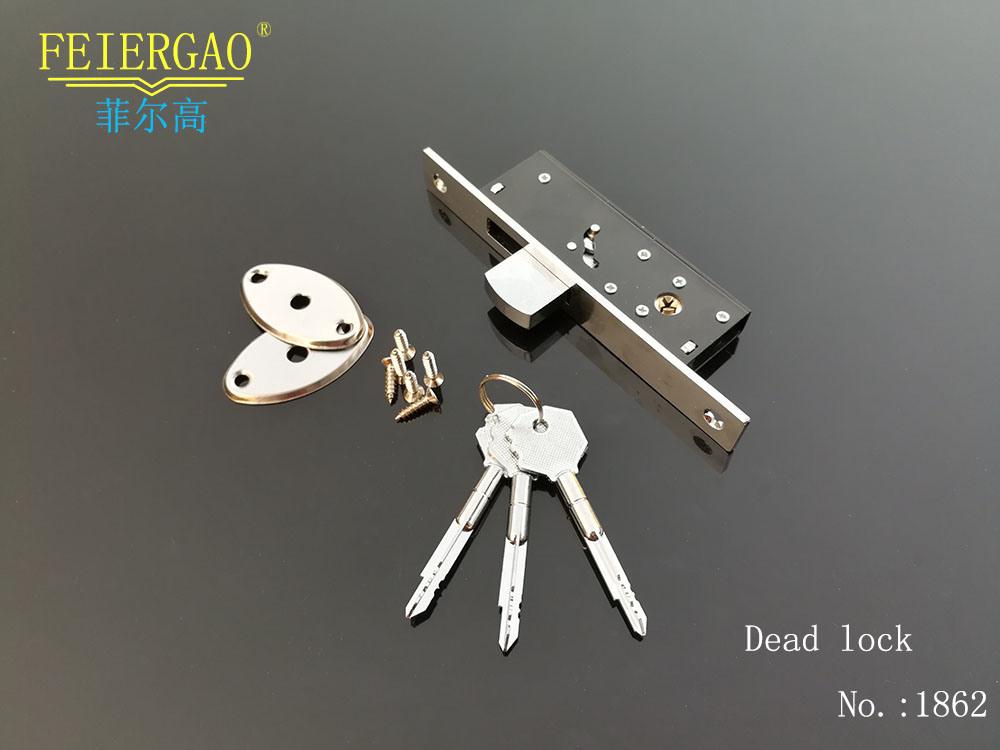 Zl-1862 Press Dead Lock Black for Shed Doors