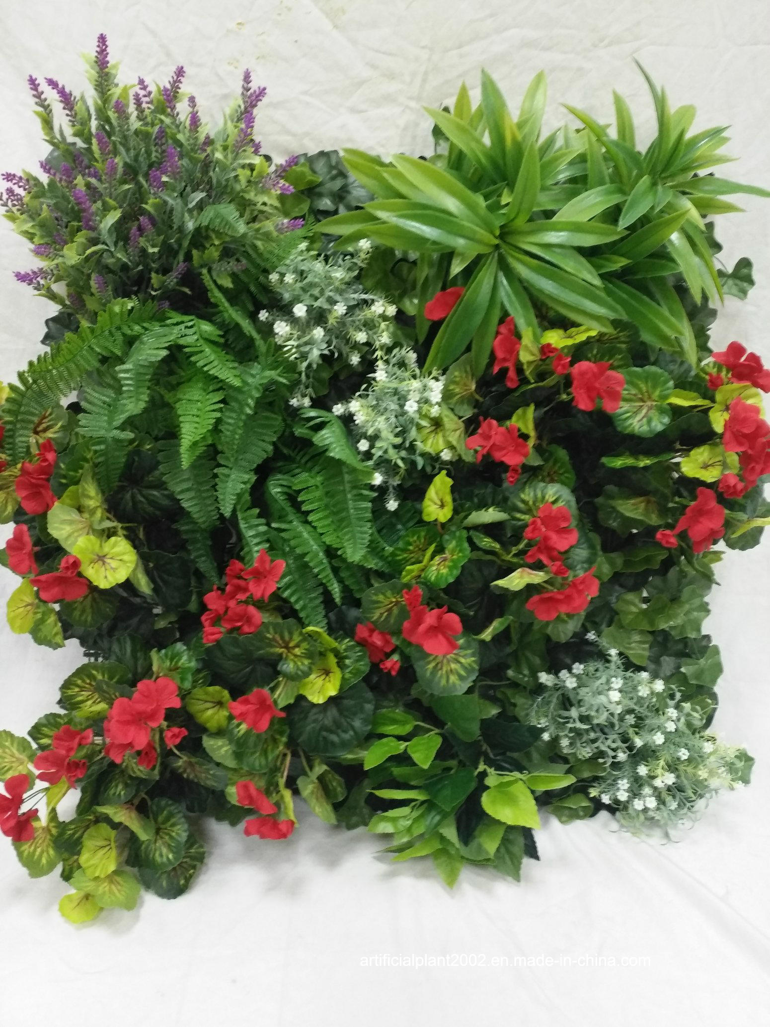 2017 Outdoor Use Indoor Use Artificial Green Wall for Decoration
