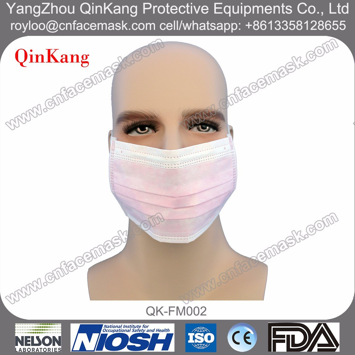 Disposable Surgical Nonwoven Face Mask