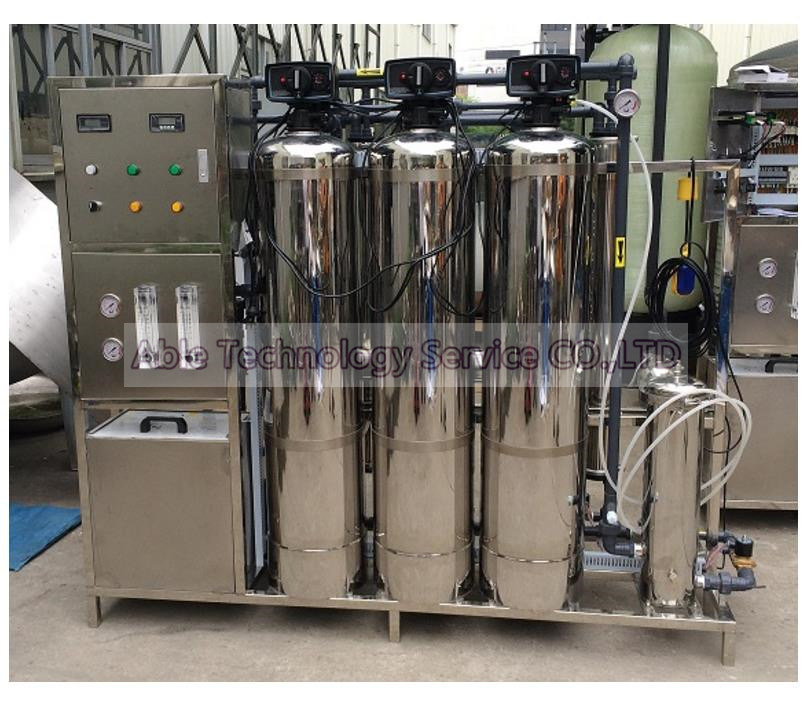 Reverse Osmosis Water Purification Machine / RO Pure Water Purification System / Fresh Water Purification Machine RO-3000L/H