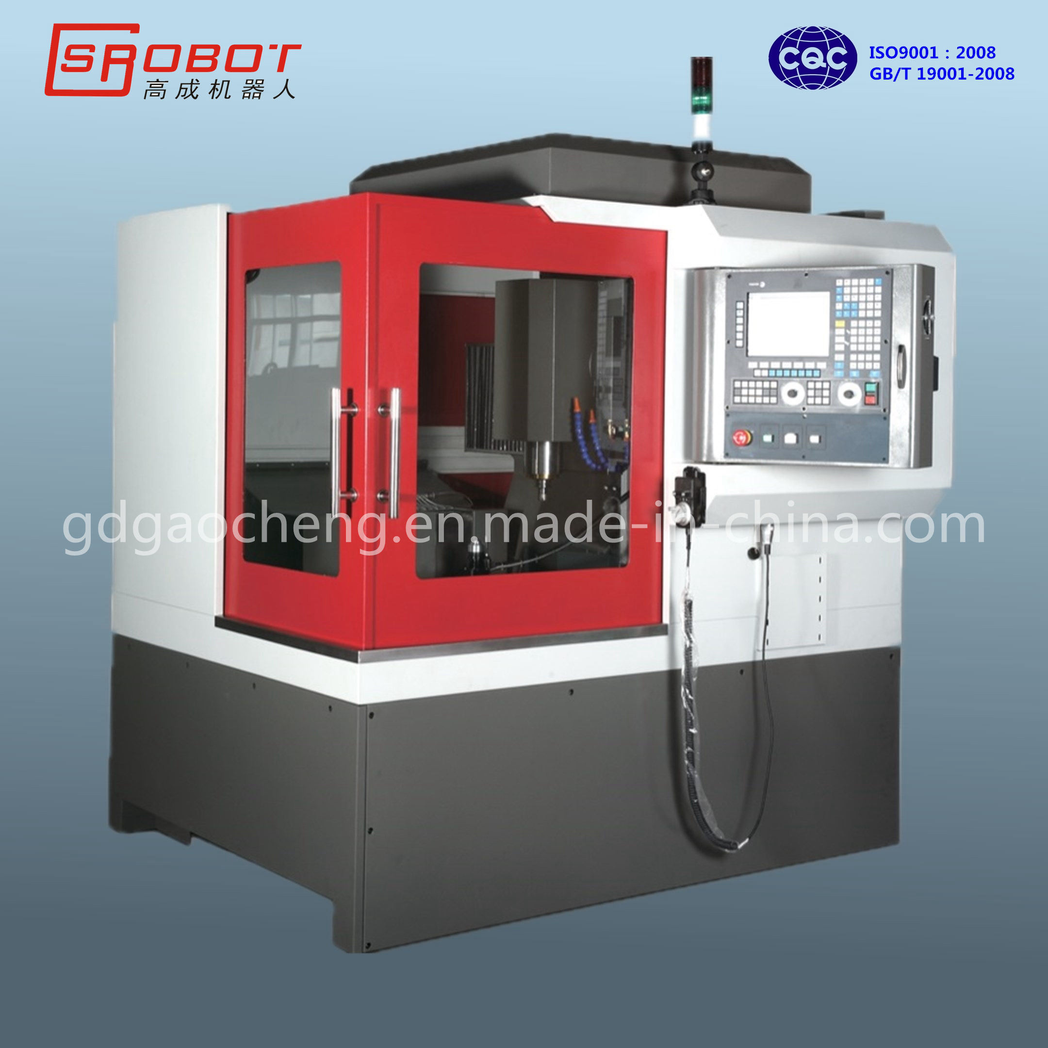CNC Milling and Engraving Machine for Small Metal Processing GS-E500