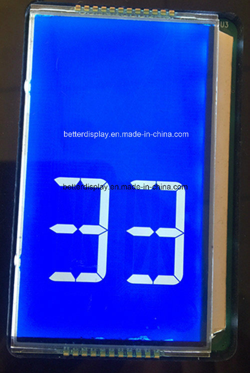 Customerized Htn Blue Type LCD Panel Used in Elevator Display