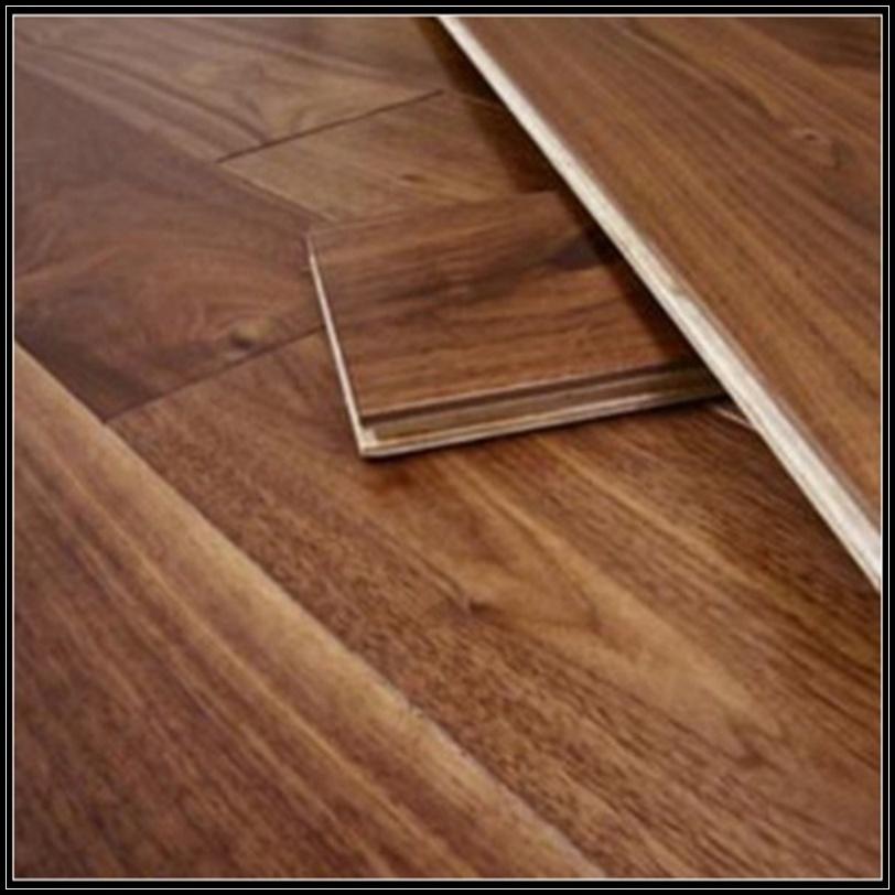 Household/Commercial American Walnut Engineered Wooden Floor