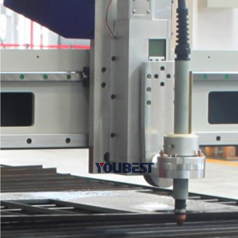 Metal Plate CNC Plasma Oxy Fuel Flame Laser Cutting Machine