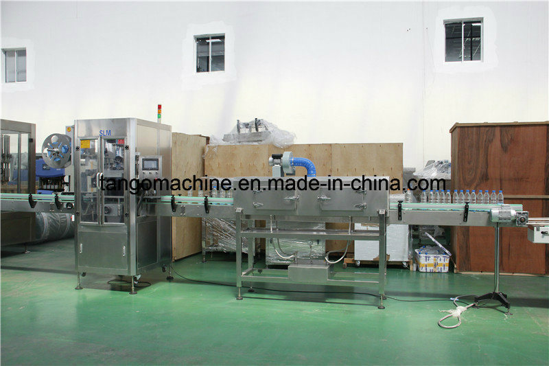 Auto Square Bottle Labeling Machine for Full Body Cap