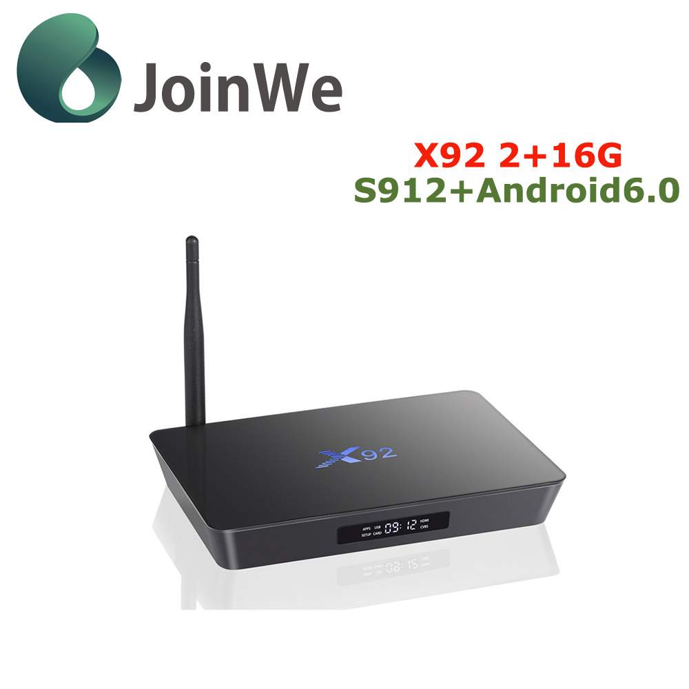 Android Smart TV Box X92 S912
