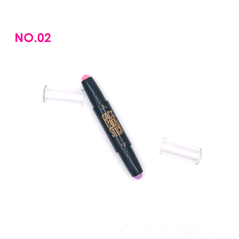 New Style Hoting Selling 4 Groups Face 3D Highlighter/Contour Stick