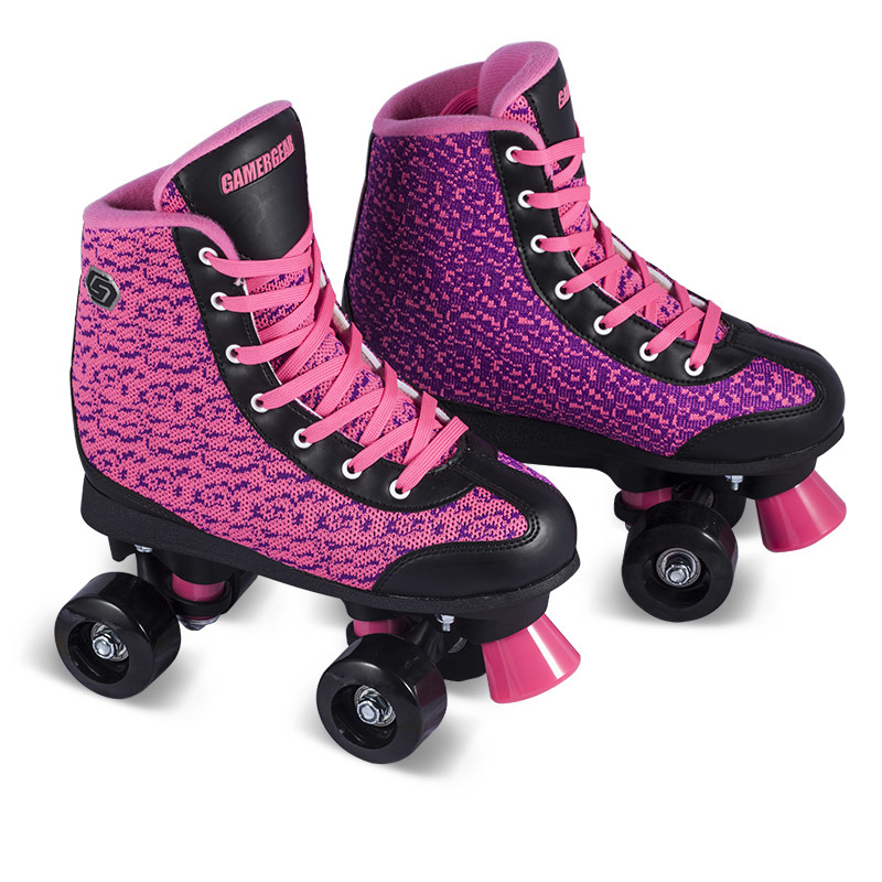 Soft Boot Quad Roller Skate for Adults (QS-42)