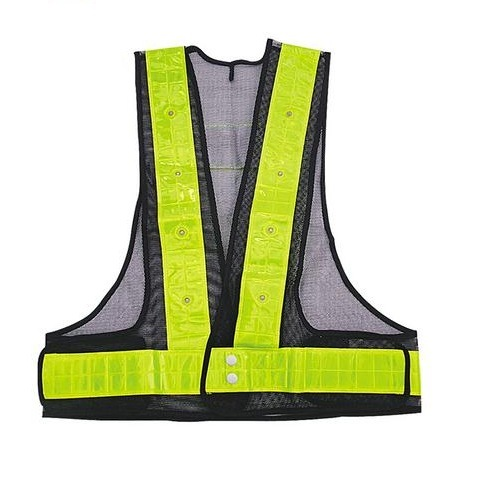 High Quality of LED Safety Vest with Closure